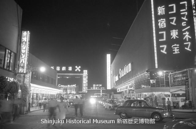 仮)1970年代の新宿 コマ劇場のトモ/原文ママ 修正前
